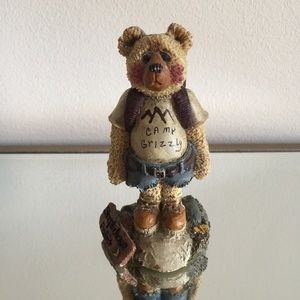 SHELLY BEARS & Co. Camp Grizzly Figurine
